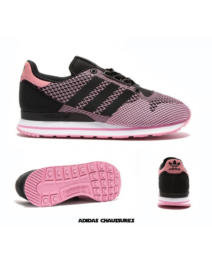 newest c51bb 00db2 Boutique Adidas Zx 500 Femme Rose AZX494